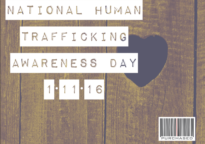 national human trafficing awarness day